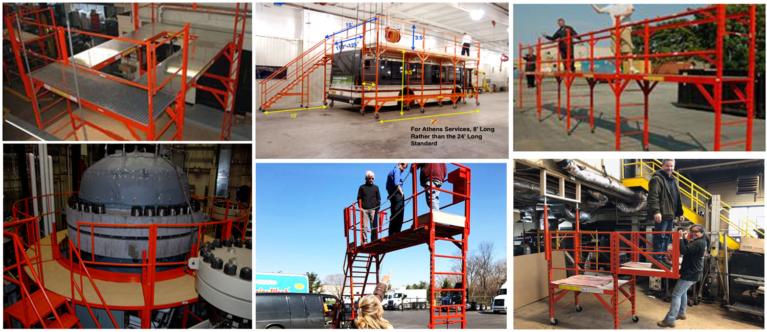 Steel Scaffolding Systems. Fall Prevention