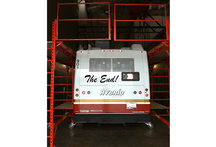 General Steel Products | Rolling Indoor Scaffolds | Work Platforms