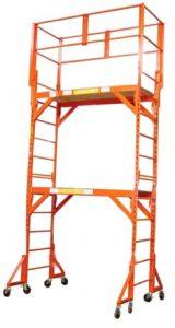 Custom made metal scaffold tower