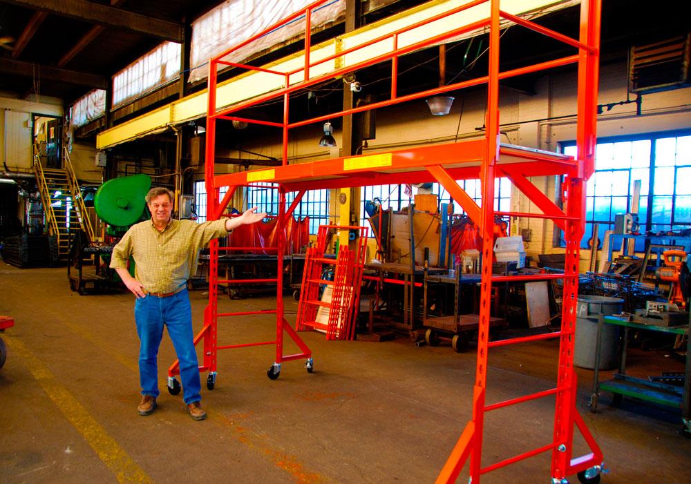 Indoor Scaffolding Platform : Indoor scaffold company portable rolling scaffolds gentex