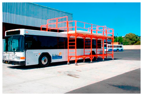 BusTop | Custom Bus Roof Maintenance Scaffolding System