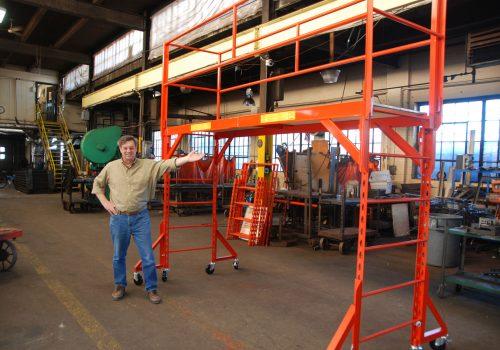 Custom Made Steel Mobile Scaffolds
