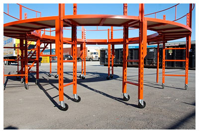 Custom Scaffolding Systems | Fall Protection Platforms
