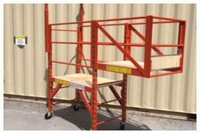 Custom Made Cantilevered Scaffolding